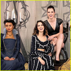 Laura & Vanessa Marano Become Royalty at 'Mary Queen of Scots' Event