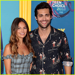 Matthew Daddario Celebrates First Year Anniversary With Esther Kim