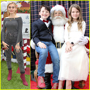 Meg Donnelly, Cameron Monaghan, 'Young Sheldon' Stars & More Give Back at Brooks Brothers' Annual Holiday Party With St. Jude's Children's Hospital