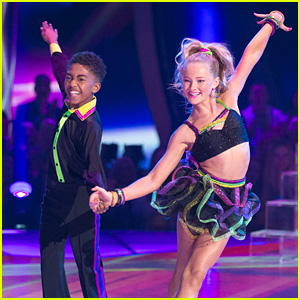 Miles Brown & Rylee Arnold Sizzle On Dance Floor With Cha Cha For 'DWTS Juniors' Semi-Finals - Watch Now!