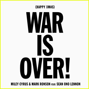 Miley Cyrus: 'War Is Over' Stream, Lyrics & Download - Listen Now!