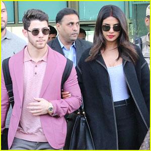 Nick Jonas & Wife Priyanka Chopra Link Arms In Udaipur