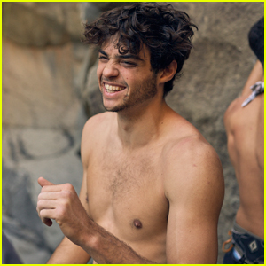 Noah Centineo Goes Shirtless During Trip Through Spain!