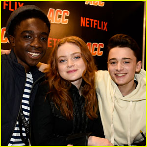 Noah Schnapp, Sadie Sink, & Caleb McLaughlin Bring 'Stranger Things' to Argentina Comic Con!