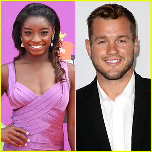 Simone Biles Gives Advice To New 'Bachelor' Colton Underwood