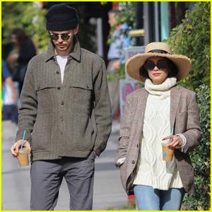 Vanessa Hudgens & Austin Butler Couple Up For Lunch in Los Feliz!
