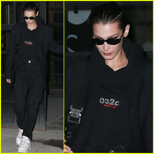 Bella Hadid Spends Her Downtime With Sis Gigi!