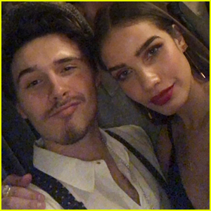Brooklyn Beckham Kisses Girlfriend Hana Cross on New Year's Eve!