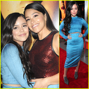 'Lil Jane' Jenna Ortega Supports Gina Rodriguez at 'Miss Bala' Premiere