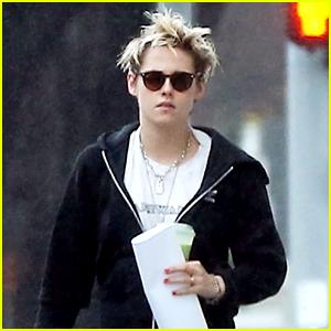 Kristen Stewart Enjoys an Afternoon at the Salon!
