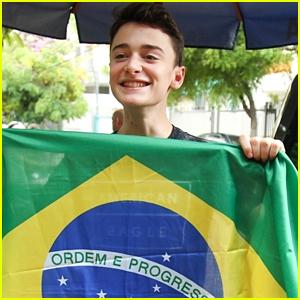 Noah Schnapp Heads To Brazil for Stranger Con Event