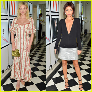 Lili Reinhart & Sarah Hyland Glam Up for W Mag's Pre-Golden Globes Party!
