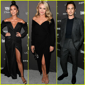 Shay Mitchell, Emily Osment & Tyler Blackburn Celebrate SAG Awards at EW Party!