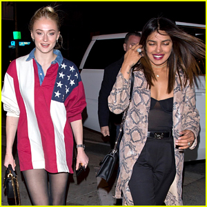 Sophie Turner Grabs Dinner with Future Sister-in-Law Priyanka Chopra