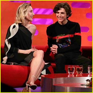 These Saoirse Ronan & Timothee Chalamet Throwback Clips Will Make You Smile! (Video)