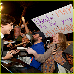 Timothee Chalamet Gets Proposed To By Fan at Palm Springs Film Festival 2019