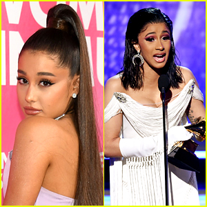 Ariana Grande Is Not Upset with Cardi B, Explains Her Grammys Tweet