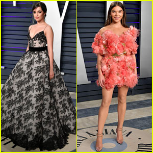 Camila Cabello Joins Hailee Steinfeld & Others at Oscars 2019 Party!