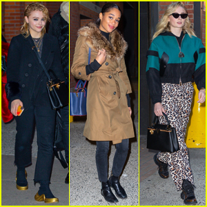 Chloe Moretz, Laura Harrier, & Sophie Turner Team Up for Louis Vuitton Photo Shoot