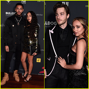 Little Mix Bring Boyfriends To Sony Music's BRITs After Party