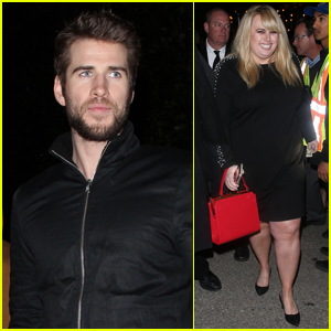 Liam Hemsworth & Rebel Wilson Hang Out at Pre-Oscars Party!