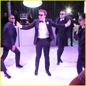 Meghan Trainor's Husband Daryl Sabara Surprised Her with a Dance at Their Wedding - Watch!