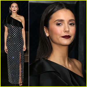 Nina Dobrev Shows Off Her Style at Hollywood Beauty Awards 2019