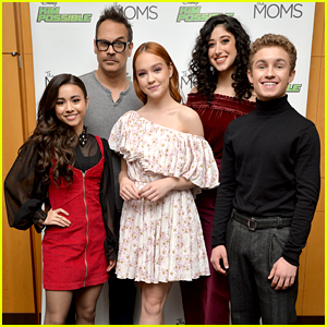 Sadie Stanley Joins 'Kim Possible' Cast at New York Screening!