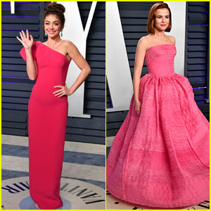 Sarah Hyland & Zoey Deutch Go Glam for Vanity Fair's Oscars 2019 Party