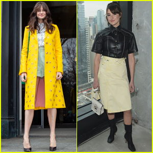 Shailene Woodley Switches Up Her Looks During NYFW!