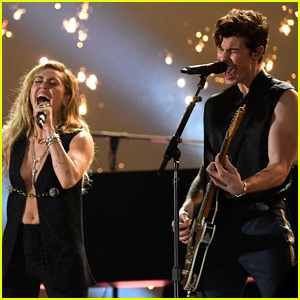 Shawn Mendes & Miley Cyrus Perform 'In My Blood' at Grammys 2019 - Watch Here!