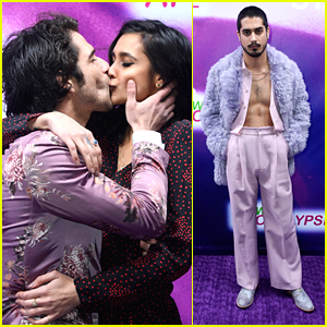 Tyler Posey Shares Kiss With Sophia Taylor Ali at 'Now Apocalypse' Premiere