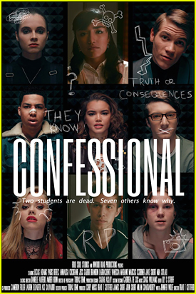 Watch The First Trailer For 'Confessional' With Paris Berelc, Vanessa Marano & More!