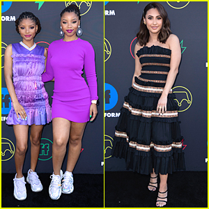 Halle Bailey Spends 19th Birthday at Freeform Summit With 'Grownish' Cast