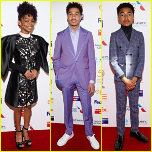 Black-ish's Marsai Martin & Marcus Scribner Win Big at NAACP Awards Dinner!