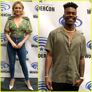 Olivia Holt & Aubrey Joseph Bring 'Cloak & Dagger' to WonderCon 2019