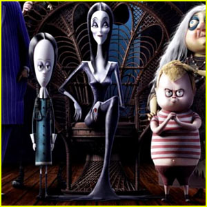 Chloe Moretz, Finn Wolfhard & More Voice 'The Addams Family' Movie - See the Teaser Trailer!