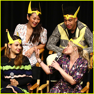Aimee Carrero & AJ Michalka Wear Crowns To She-Ra Season 2 Fan Screening