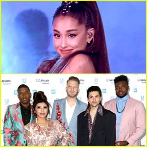 Ariana Grande Reacts To Pentatonix's Mashup of Her Greatest Hits
