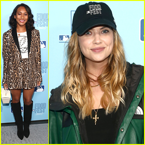 Ashley Benson, Sydney Park, Emily Osment & More Hit Up MLB's FoodFest Preview Night