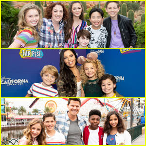 'Coop & Cami Ask The World' Cast Join 'Bunk'd' & 'Sydney To The Max' Crew at Disney Channel Fan Fest!
