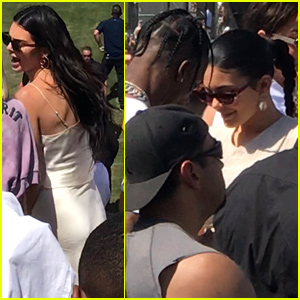 Kendall & Kylie Jenner Team Up for Kanye West's 'Sunday Service' at Coachella