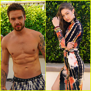 Liam Payne Goes Shirtless at Bootsy Bellows' Coachella Party with Gigi Hadid