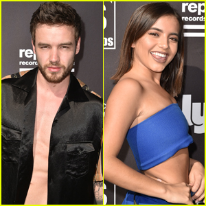 Liam Payne & Isabela Moner Stop by Republic Records' Coachella Party