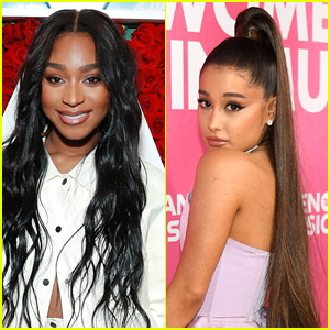 Normani Says Touring With Ariana Grande is 'Like a Sleepover on Wheels'
