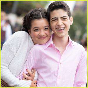 Peyton Elizabeth Lee & Joshua Rush Bring 'Andi Mack' to Disney Channel Fan Fest!