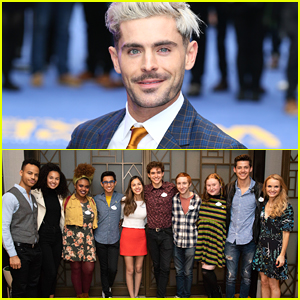 Zac Efron Would Love To Cameo on 'High School Musical' Series