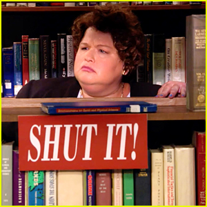 Watch Lori Beth Denberg Return to 'All That' as the Loud Librarian!
