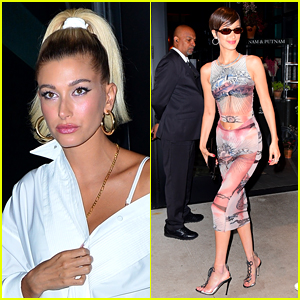 Hailey Bieber & Bella Hadid Switch Up Their Style for Met Gala 2019 After Parties!
