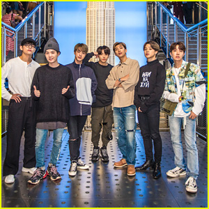 BTS Stop By Empire State Building Ahead of Live Event in NYC